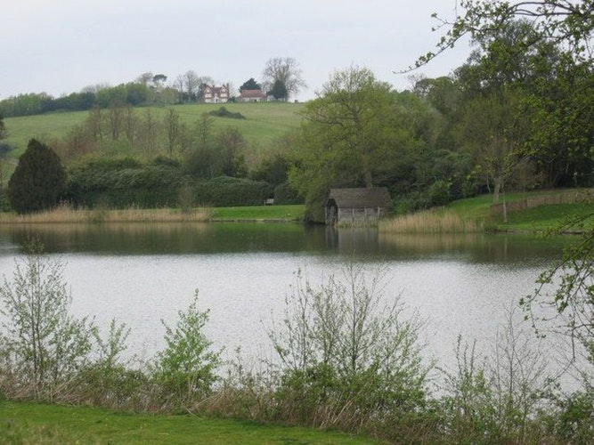 Pgds 20140716 203102 Swimming Hut At Ashburnham Place   Geograph Org Uk   416387